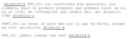 Marcas de tiempo en archivo